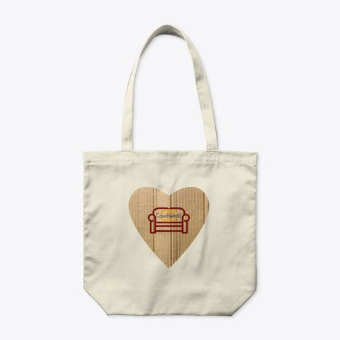 This picture shows our CouchWedd eco bag that you can buy.