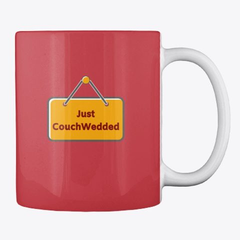 This picture shows our CouchWedd mug that you can buy.