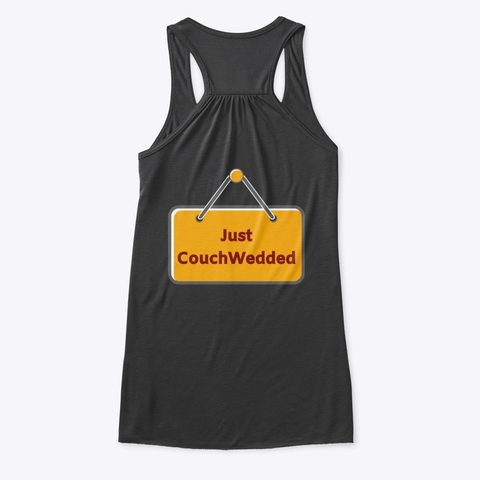 This picture shows our CouchWedd tank top that you can buy.